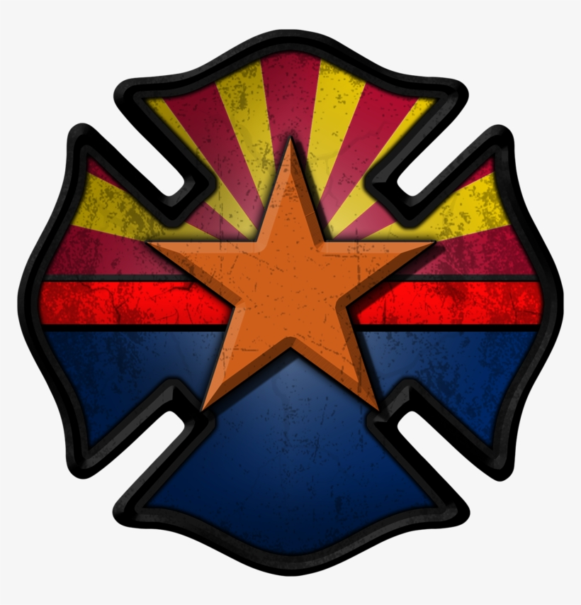 Arizona Firefighter Decal - New York City Fire Department Badge, transparent png #8239895