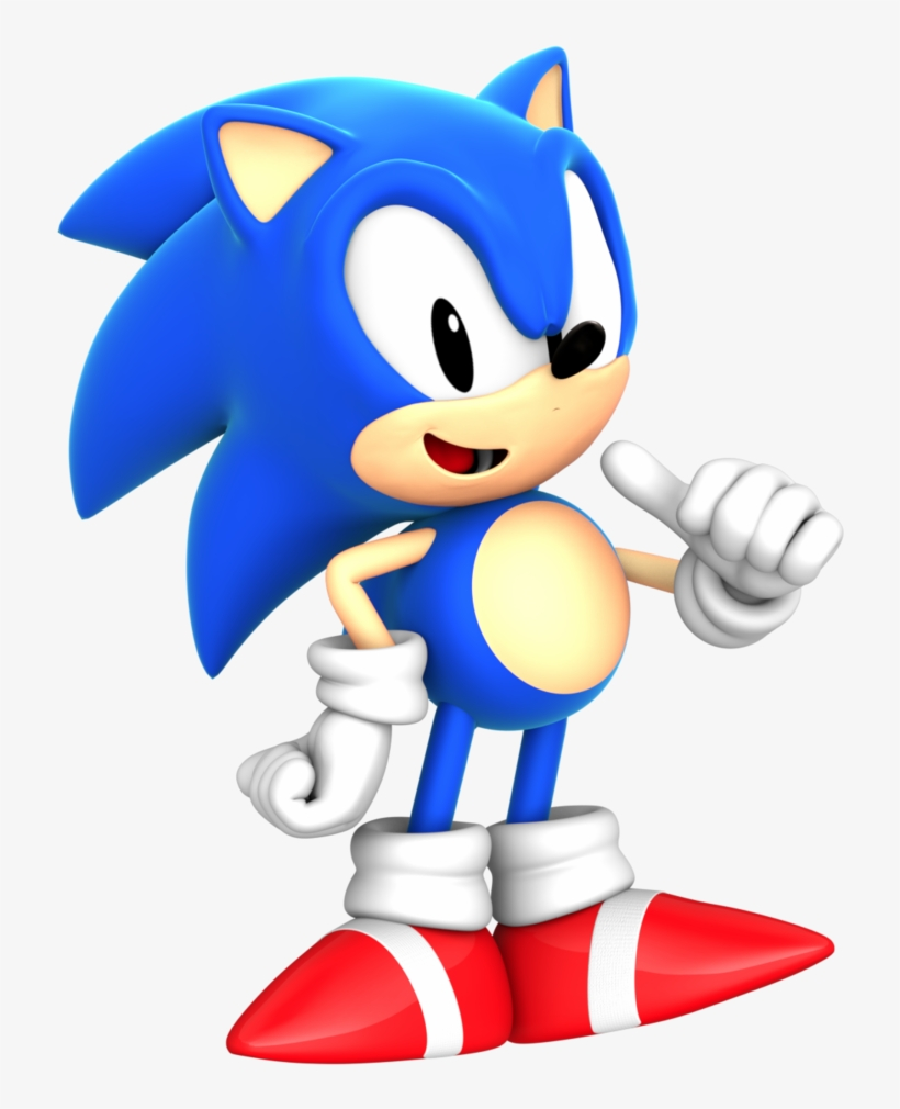 Classic Sonic Png Sonic Mania Sonic 3d Free Transparent Png
