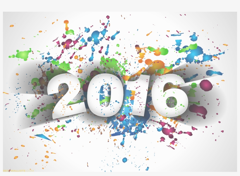 Happy New Year 2016 - Happy New Year Background 2017, transparent png #8249718