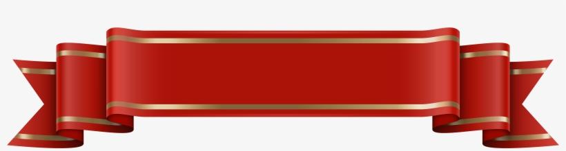 Banner Red Transparent Clip Art Image Gallery Png Red - Banner Background Sticker, transparent png #8258189
