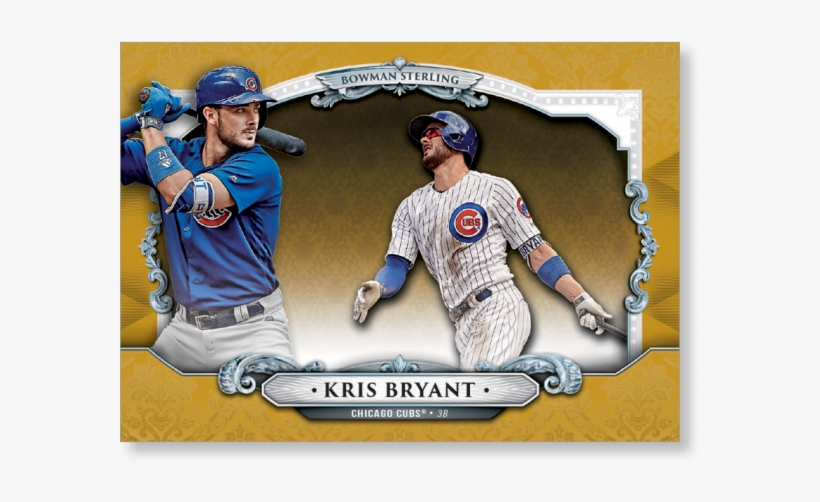 Kris Bryant 2018 Topps Bowman Baseball Sterling Continuity - Catcher, transparent png #8261850