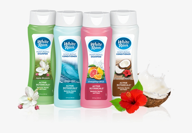 White Rain Shampoo Or Conditioner Only $0 - White Rain Shampoo And Conditioner, transparent png #8264162