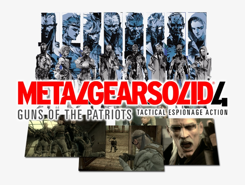 It Introduced The Comrade System, Which Allows Snake - Metal Gear Solid 4, transparent png #8265717