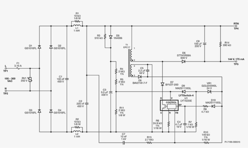 Led Driver Schematic Diagram