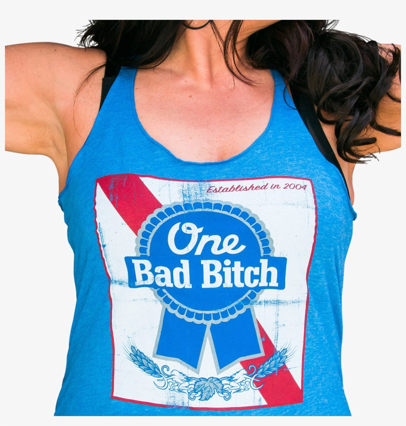 Plus Size Pbr Tank - Pabst Blue Ribbon Vector, transparent png #8273128