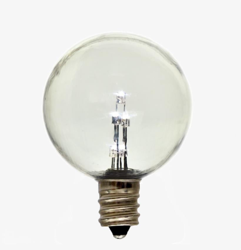 Led Garden Light Transparent Background - Incandescent Light Bulb, transparent png #8291672