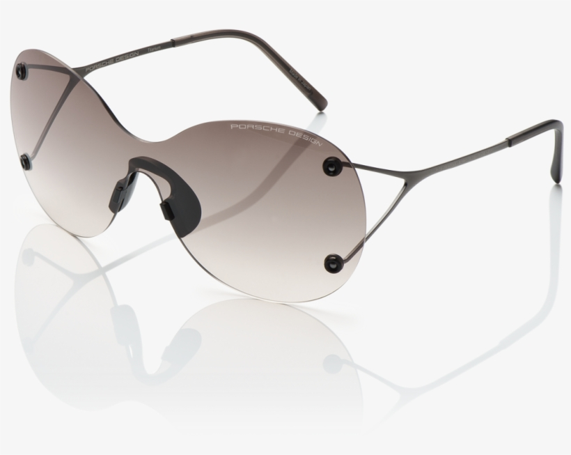 Porsche Design Sunglasses - Aviator Sunglass, transparent png #8296013