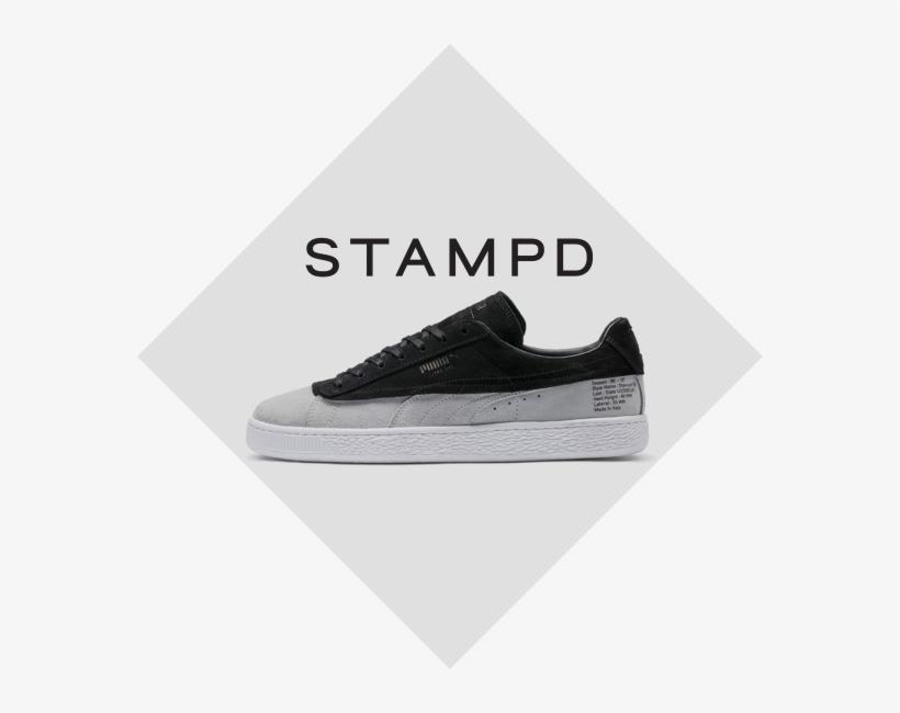 Shop Puma X Stampd - Puma Suede 50 X Panini, transparent png #8296358