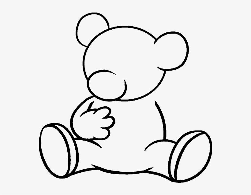 How To Draw Cartoon Bear Kartun Beruang Hitam Putih Free Transparent Png Download Pngkey