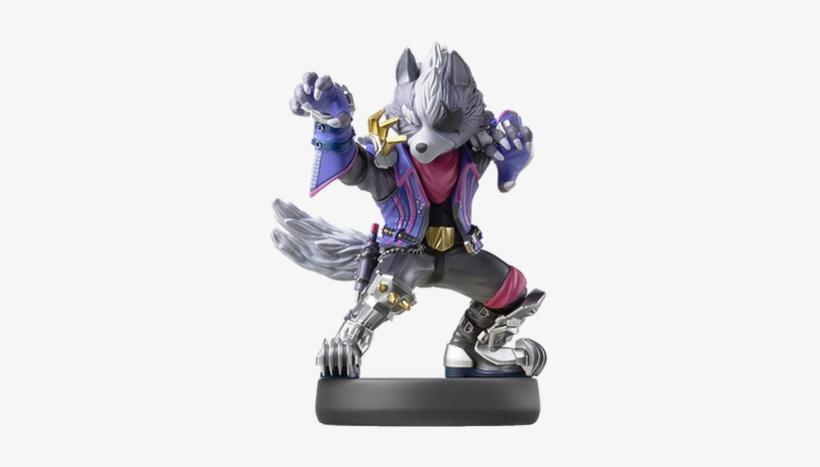 Amiibo Super Smash Bros Wolf, transparent png #830891