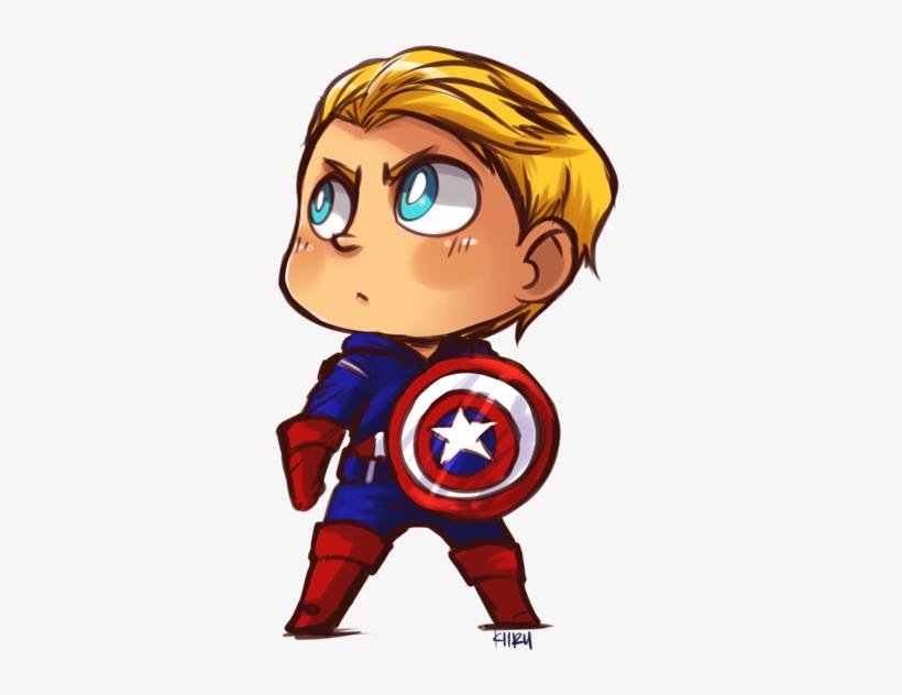 Captain America By Kiirusama - Cute Captain America Cartoon - Free