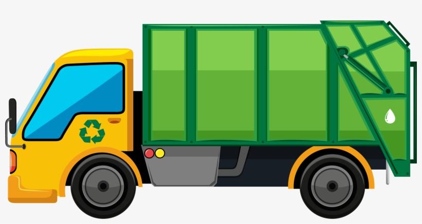Clip Dump Truck - Door To Door Collection Of Waste, transparent png #831888