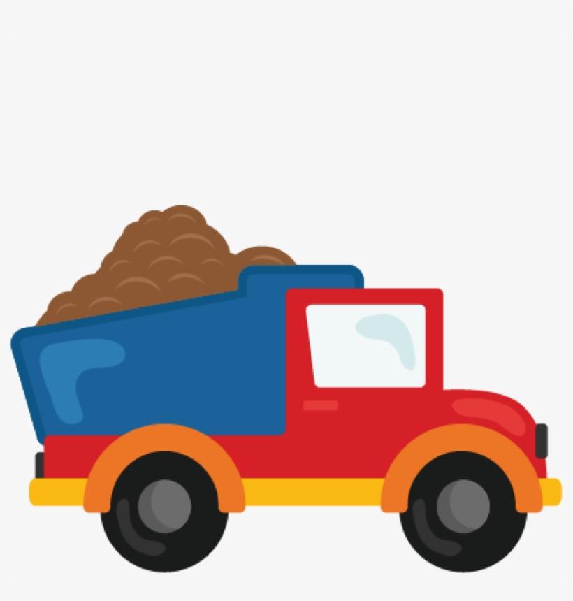 Dump Truck Svg Scrapbook Cut File Cute Clipart Files - Dump Truck Clipart Transparent Background, transparent png #831914