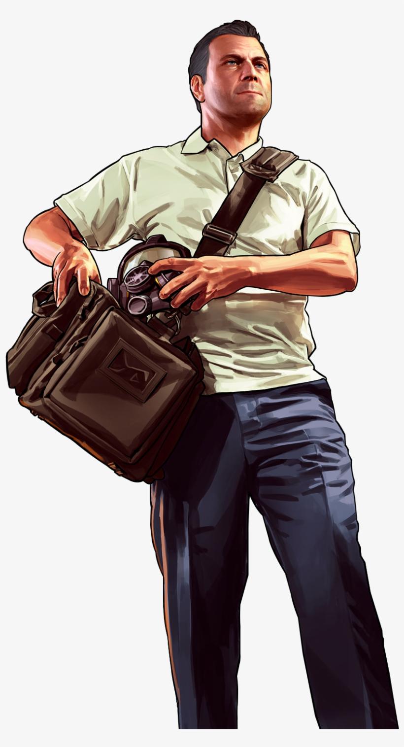 Grand Theft Auto V [ps3 Game], transparent png #832024
