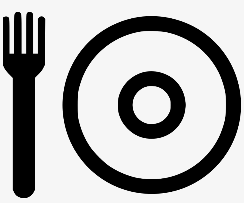 Fork Plate Lunch Menu Cafeteria Eat Eating Comments - Eating, transparent png #833707