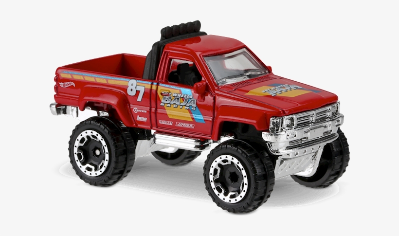 1987 Toyota Pickup Truck 2017 - Hotwheels 1/64 Toyota Pickup Truck Dtx74 82/ H1857460, transparent png #834140