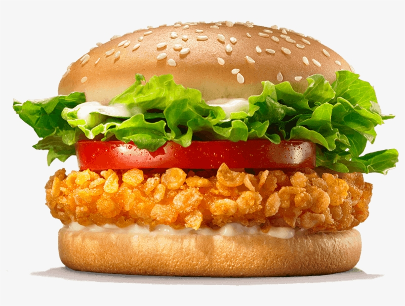 Produkte Burger King Burger King Png Burger King Crispy - Crispy Chicken Burger King, transparent png #834214