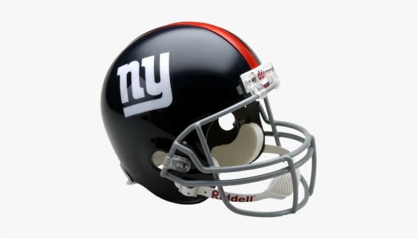 New York Giants Throwback 1961 To 1974 Full Size Deluxe - Riddell College Full Size Replica Usc Helmet, transparent png #834394