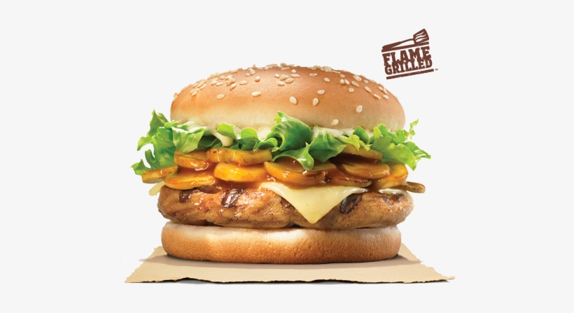 Longing For A Chicken Version Of The Bk Mushroom Swiss - Tender Chicken Burger King, transparent png #834459