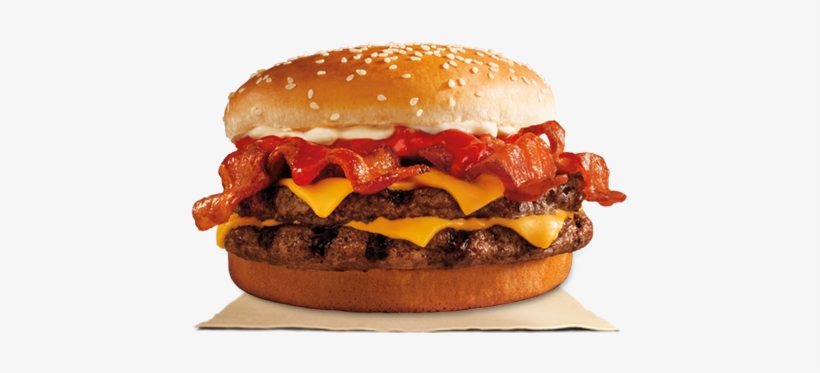 Burger King Has A New Burger With Eight Slices Of Bacon - Bacon King Burger King Uk, transparent png #834479