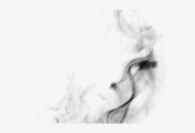 Smoke effect. Clipart flying background for