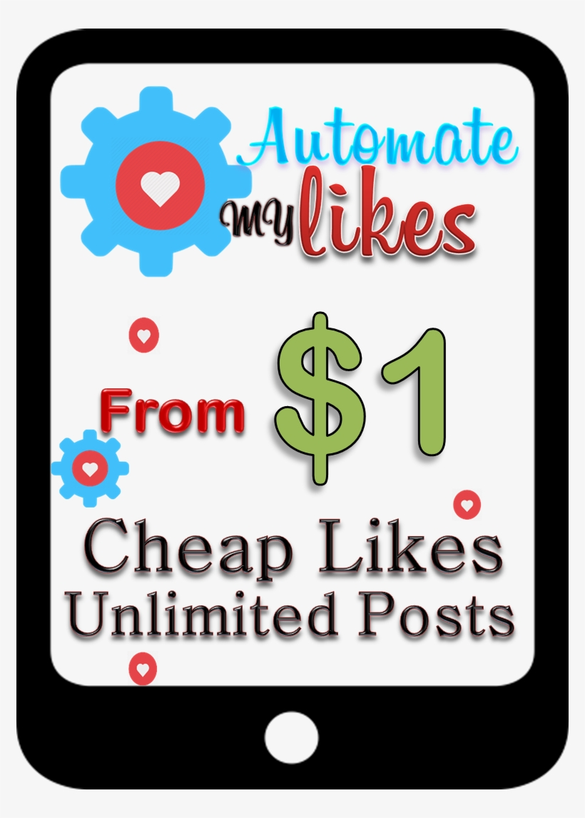 Cheap Automatic Instagram Likes Unlimited Posts - Instagram, transparent png #837723