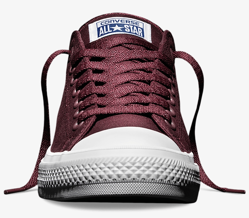 Converse Chuck Taylor All Star Ii Low  bordeaux  - Sneaker Front View Png 8a9631a36