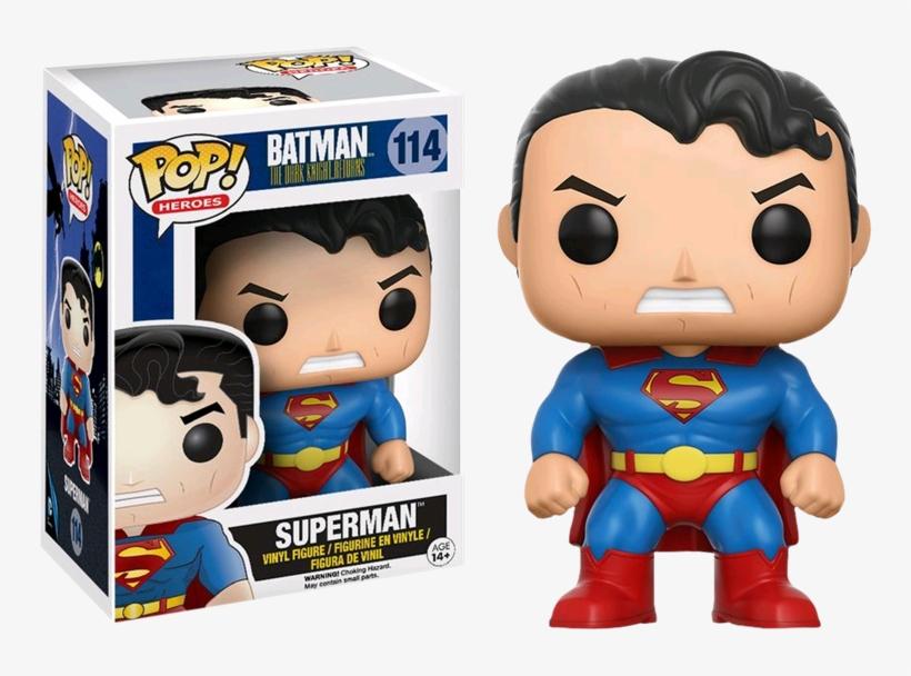 Funko Pop Dc Batman Dark Knight Returns - Funko Pop Batman Superman, transparent png #838290