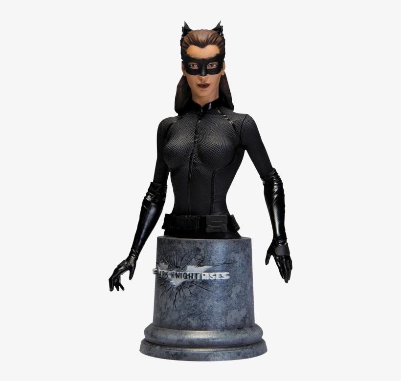 The Dark Knight Rises - Batman - The Dark Knight Rises Catwoman Bust, transparent png #838727