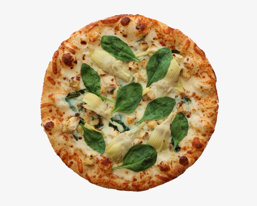 Top It Pizza Joanna's Spinach Artichoke - California-style Pizza, transparent png #8300628