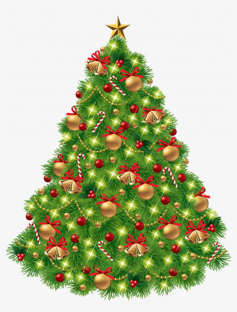 Christmas Tree Png Clipart Best Web Marvelous Quality - Transparent Christmas Tree Clip Art, transparent png #8302183