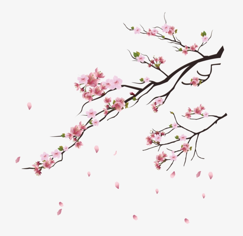 Png Cherry Blossom Tree, transparent png #8304596