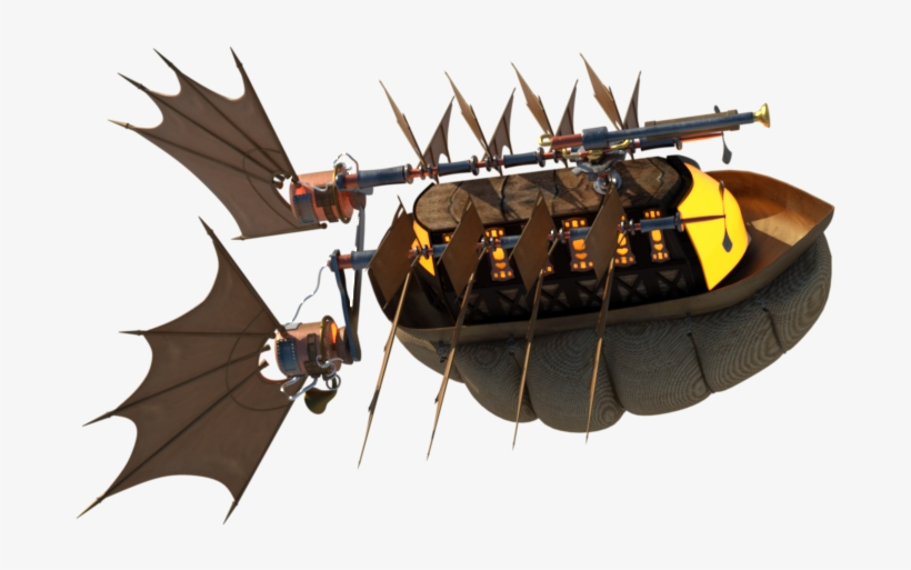 I Will Be Starting The Revisions Of My Airship By Adding - Boat, transparent png #8316747