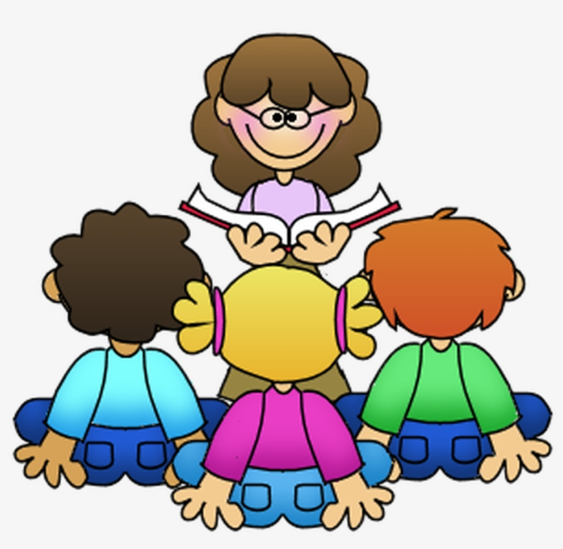 Family Reading And Pajama Night - Teacher Reading Clip Art, transparent png #8320838