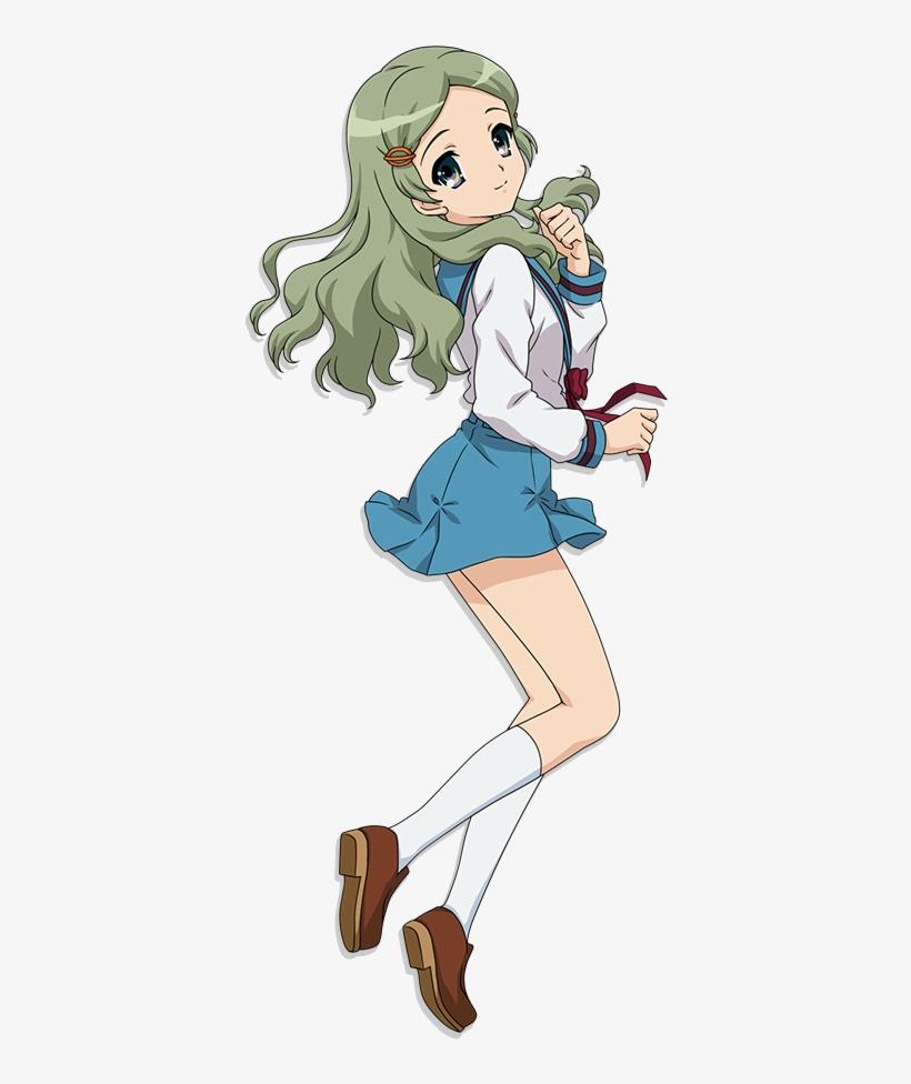 Https - //rei - Animecharactersdatabase - Com/uploads/chars/35236- - Melancholy Of Haruhi Suzumiya Emiri, transparent png #8322024