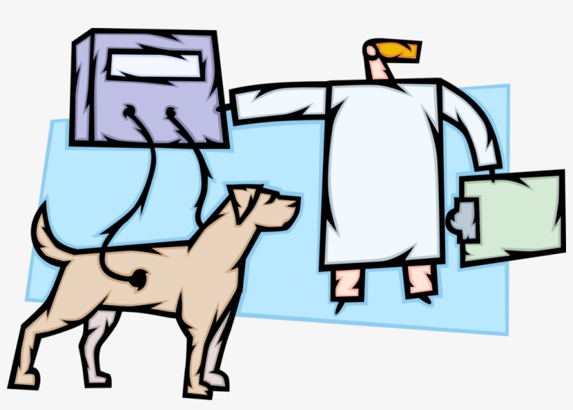Vector Illustration Of Animal Testing Research And, transparent png #8337979