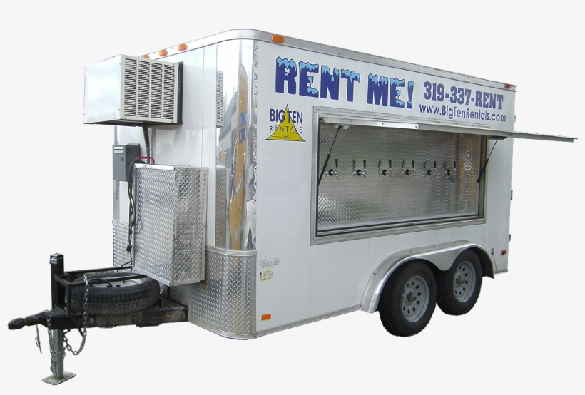 It Accommodates Up To 30 Kegs And 6 Different Beer - Beer Keg Trucks, transparent png #8338512
