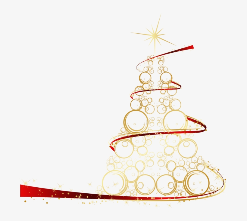 Gold Christmas Tree Creative, transparent png #8346543