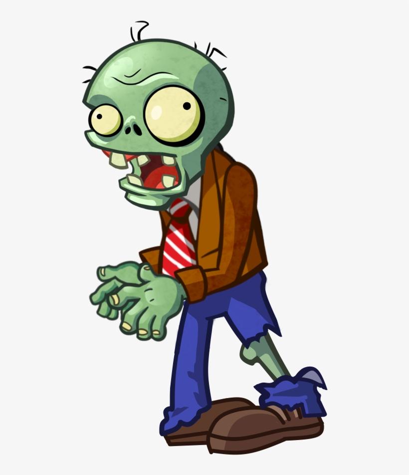 Zombie, Browncoatzombiepvzh - Trash Can Zombie Pvz Png, transparent png #8347385