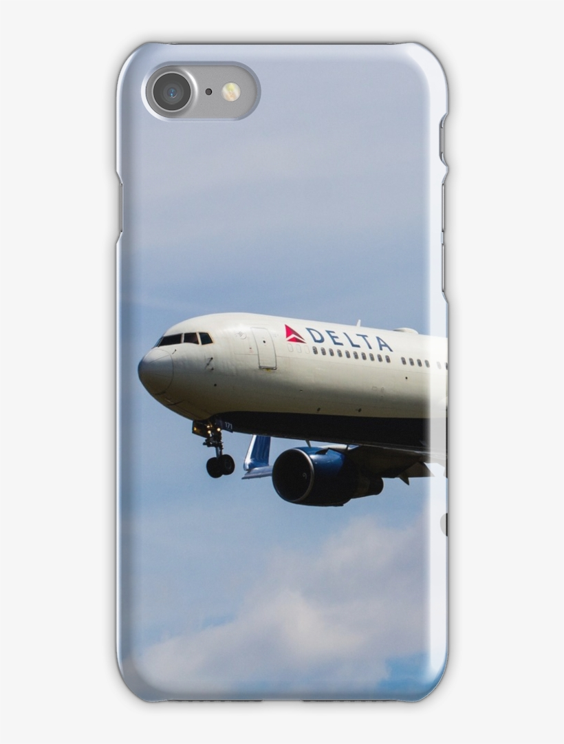 Delta Airlines Boeing 767 Iphone 7 Snap Case - Billie Eilish Phone Cases For Iphone 6, transparent png #8348750