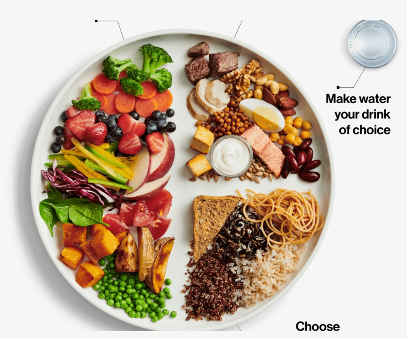 Meat And Dairy's Presence Drastically Reduced In Latest - Canada's New Food Guide 2019, transparent png #8355293