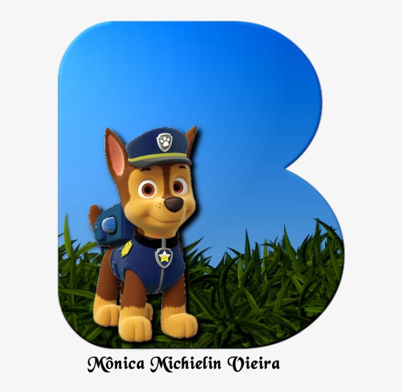 Alfabeto Patrulha Canina Png Chase Paw Patrol Birthday