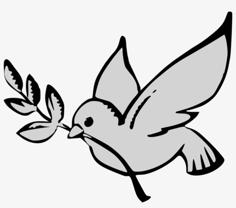 Paloma Para Colorear Dibujo De Volando Dibujos Palomas Peace Dove