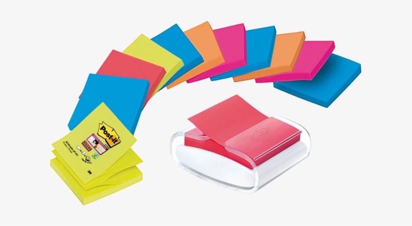 Post It Design Bureaudispenser Voor Z Notes - Post-it Note, transparent png #8388749