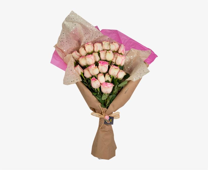 Fresh Roses Bouquets - Garden Roses, transparent png #8391790