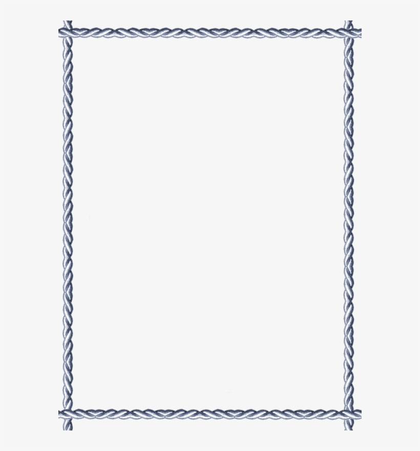 Cadre Rectangle Png - Lotus Flower Page Border, transparent png #8395334