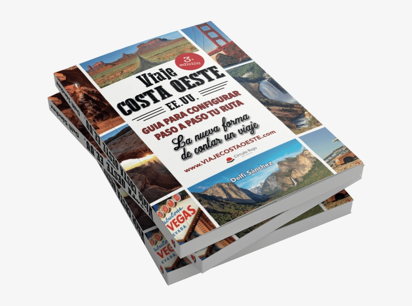 Libro Viaje Costa Oeste Eeuu Tercera Edición - Viaje Costa Oeste Libro, transparent png #8395549