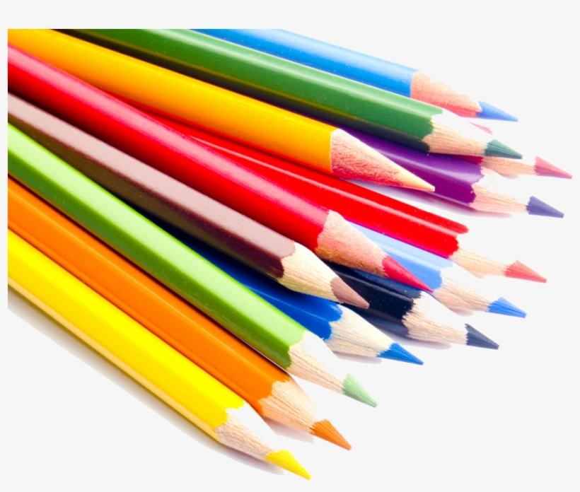 Colored Pencils Png - Poster Design School Supplies Store, transparent png #8395683