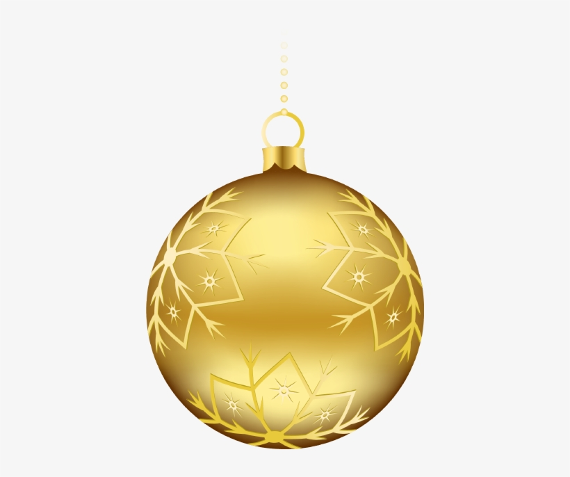 Christmas Ball Decorations 2 Messages Sticker - Gold Christmas Balls Png, transparent png #840087