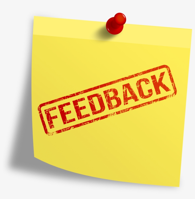 Leave A Feedback - Post-it Note, transparent png #840089